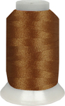 ThreaDelight Polyester Embroidery Thread Brown LT 60 WT