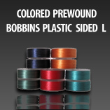 Colored Pre-Wound Bobbins