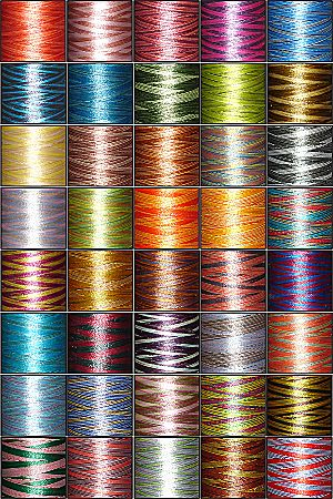 40-Cone Variegated Embroidery Threads Kit ThreaDelighT
