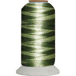 Polyester Variegated thread cones for 1.99 only