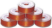 36 L Pre-Wound Plastic Sided Bobbins - Orange Spice (P830)