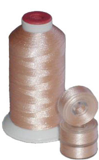Matching L Bobbins & Thread - Peach