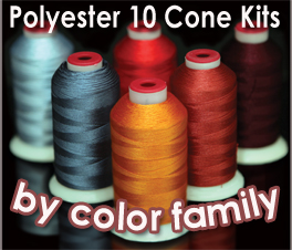 Thread Kits By Color Family