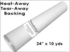 Heat-Away Backing - 24 inch x 10 yards
