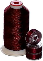 Matching Bobbins & Thread - Deep Wine Red