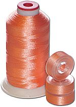 Matching Bobbins & Thread - Peach Color