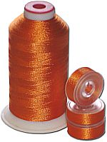 Matching Bobbins & Thread - Orange Spice MD Color