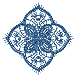 Doily embroidery design