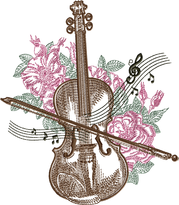Flowers for Violin