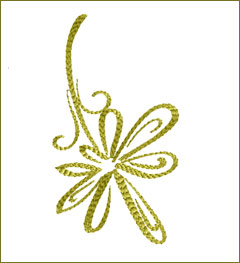 Leaf 12 embroidery design