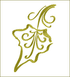 Leaf 2 embroidery design