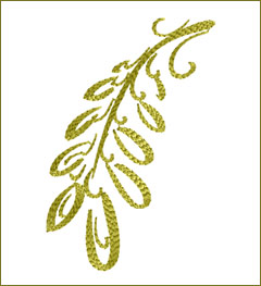 Leaf 3 embroidery design