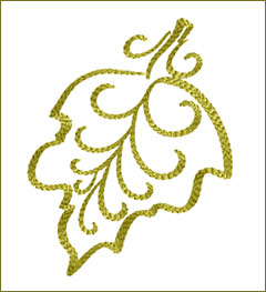 Leaf 7 embroidery design
