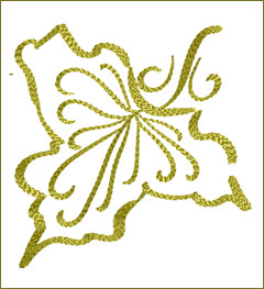 Leaf 9 embroidery design