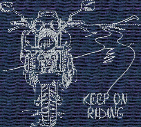 Keep-On-Riding Embroidery Designs