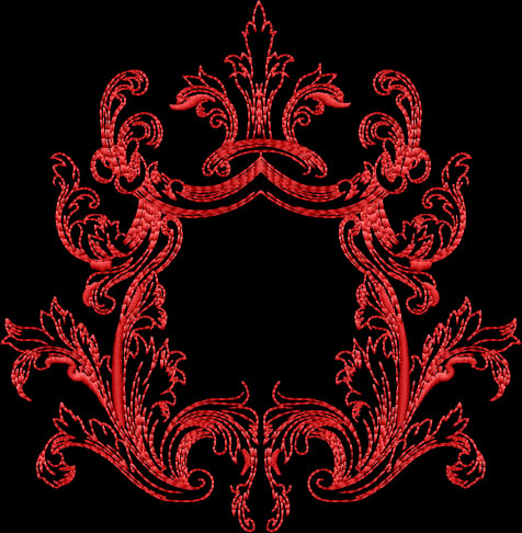 Medieval Frames 2 Embroidery designs