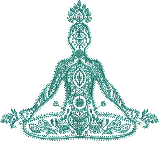 OM Symbol Embroidery Designs