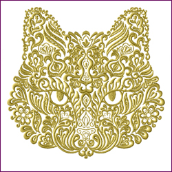 Ornamental Cat Face