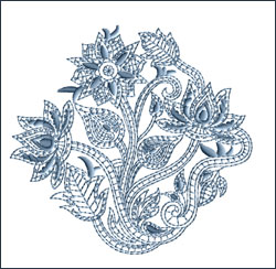 Motif 1 embroidery design