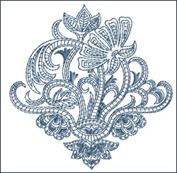 Motif 10 embroidery design