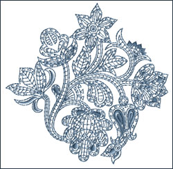 Motif 13 embroidery design