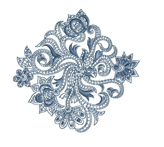 Paisley motifs