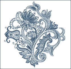Motif 9 embroidery design