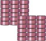 36 L Pre-Wound Plastic Sided Bobbins -Pink