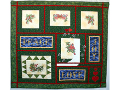 Project Idea with Christmas Cross Stitch Embroidery Designs