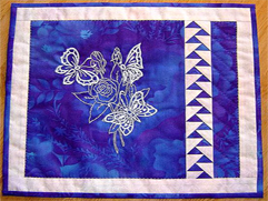 Project Idea with Cutwork Butterflies Embroidery Designs