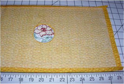 Daffodil Lace Book Cover Project