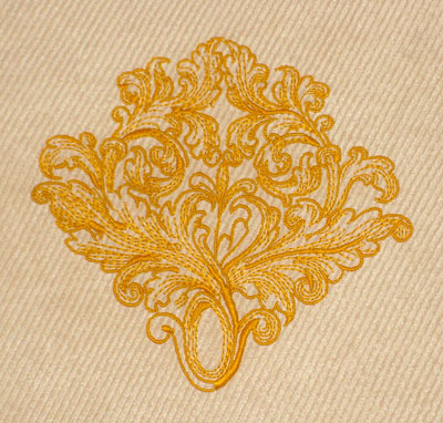 Medieval Splendor Embroidery Designs: Ornament