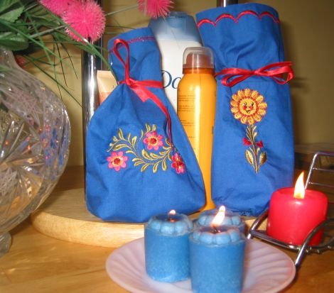 Gift Bath Set with Country Sunshine Designs