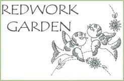 Redwork Garden