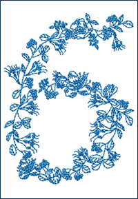 Redwork 6 embroidery design