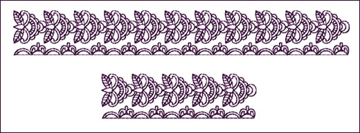 Border 1 embroidery design