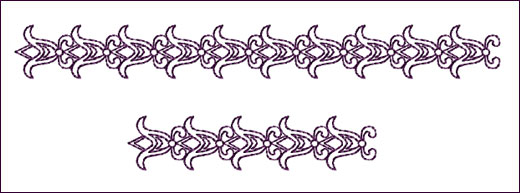 Border 5 embroidery design