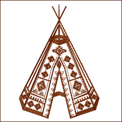 Tribal Teepee 1