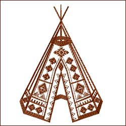Tribal Teepee 1