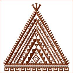 Tribal Teepee 2