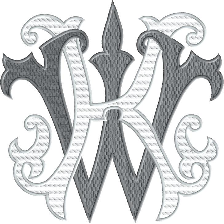 kw monogram 1