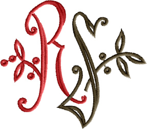 R and S Monogram
