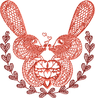 Valentine Rabbits Designs