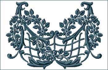Dais Tracery Embroidery Design