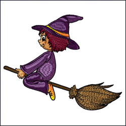 Wizard on the Broom
