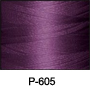ThreaDelight Polyester Embroidery Thread Deep Violet 60 WT