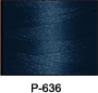 ThreaDelight Polyester Embroidery Thread Navy Blue