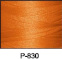 ThreaDelight Polyester Embroidery ThreadOrange Spice MD  60 WT