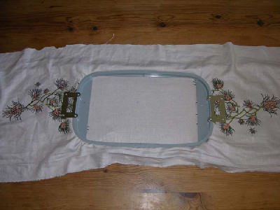 Holiday Quilted Table Runner
