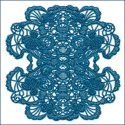 Laced Butterfly Doily 3